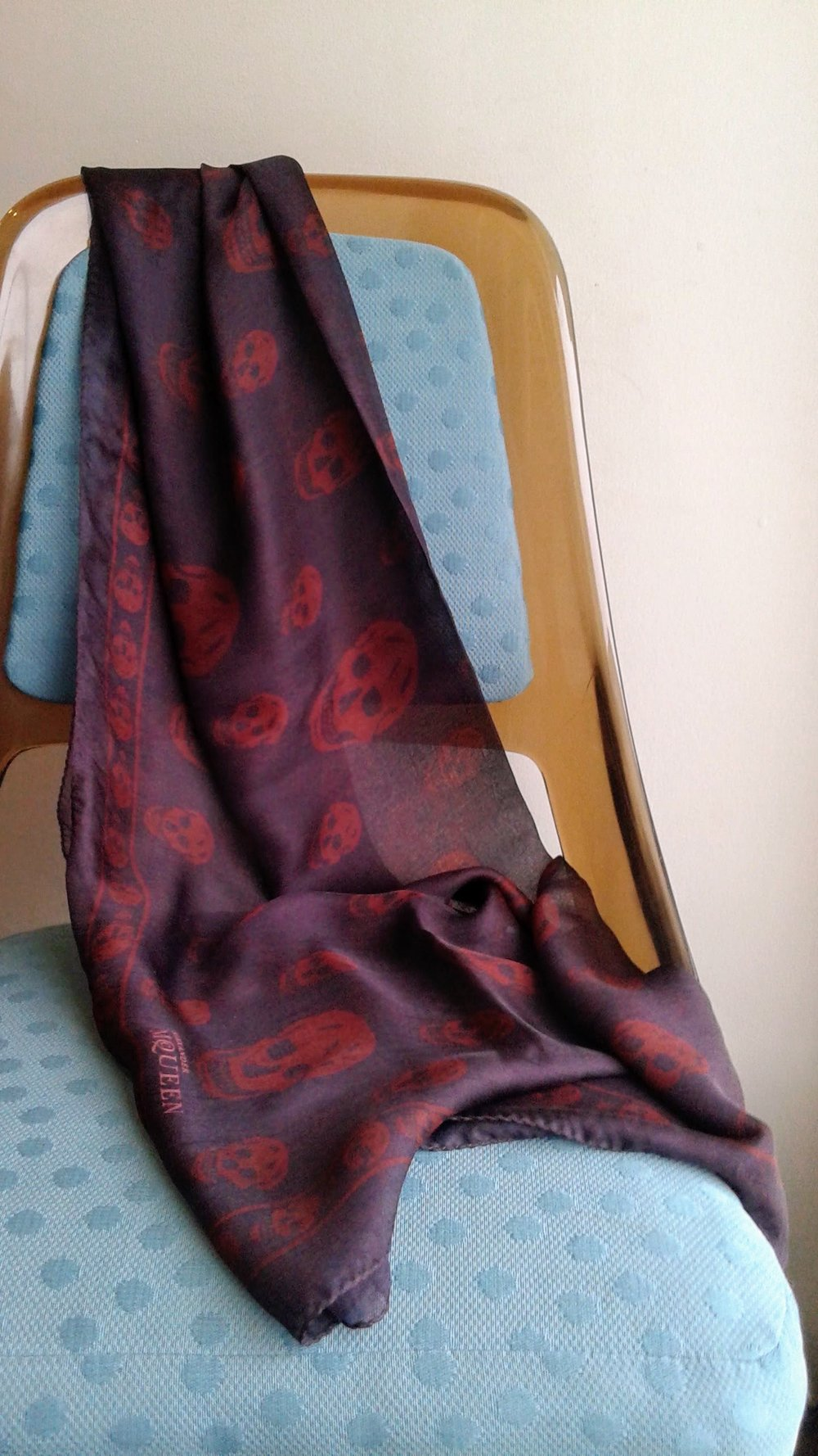 Alexander MCQueen scarf, $125
