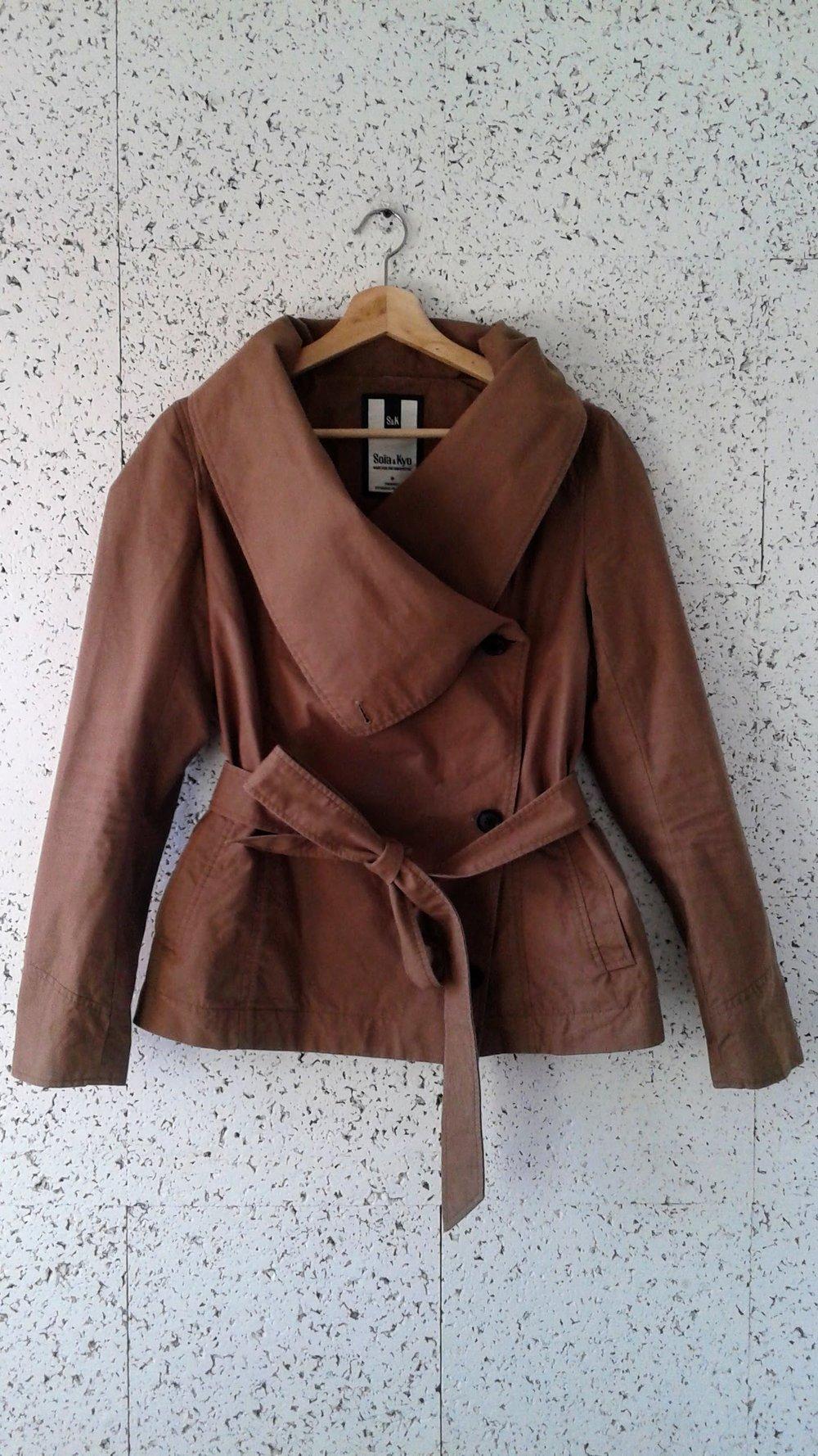 Soia & Kyo jacket; Size M, $48