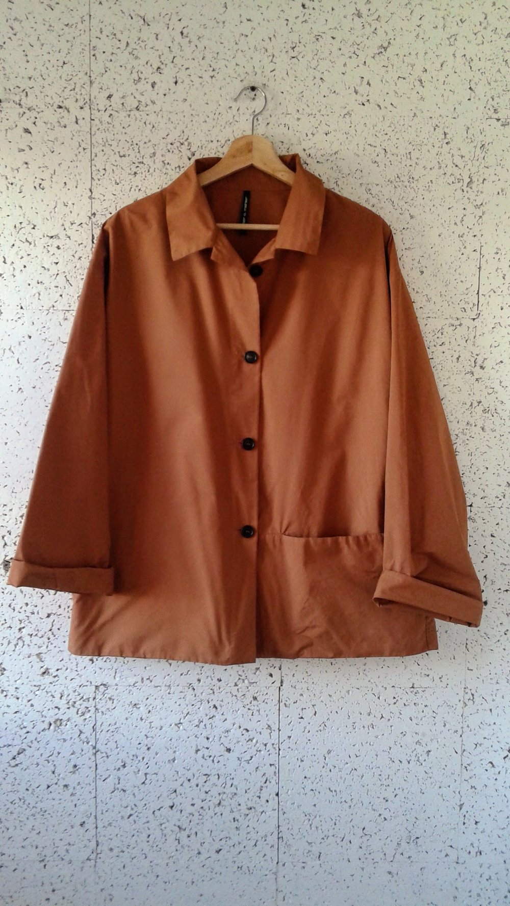 Peter O. Mahler coat; Size L, $110