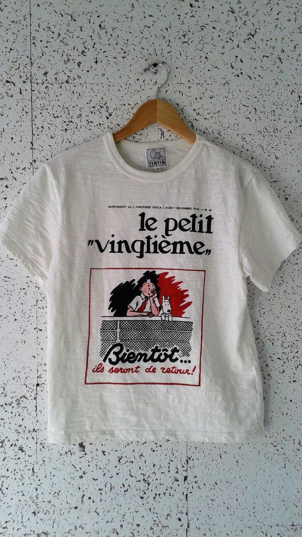 Tintin t-shirt; Size M, $18