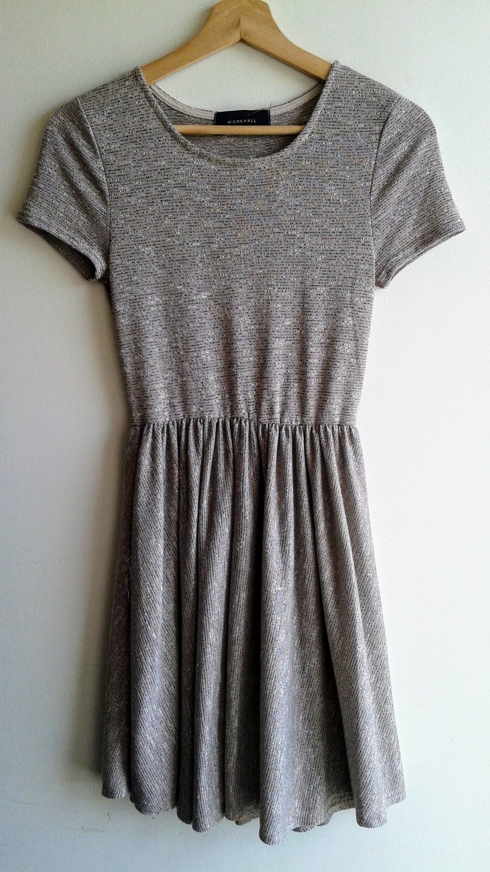 Workhall dress; Size S, $30