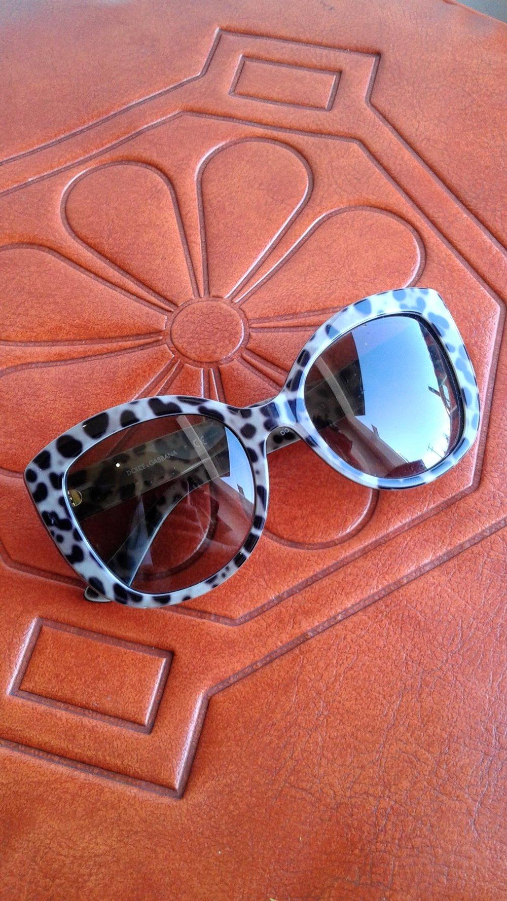 Dolce & Gabbana sunglasses, $45