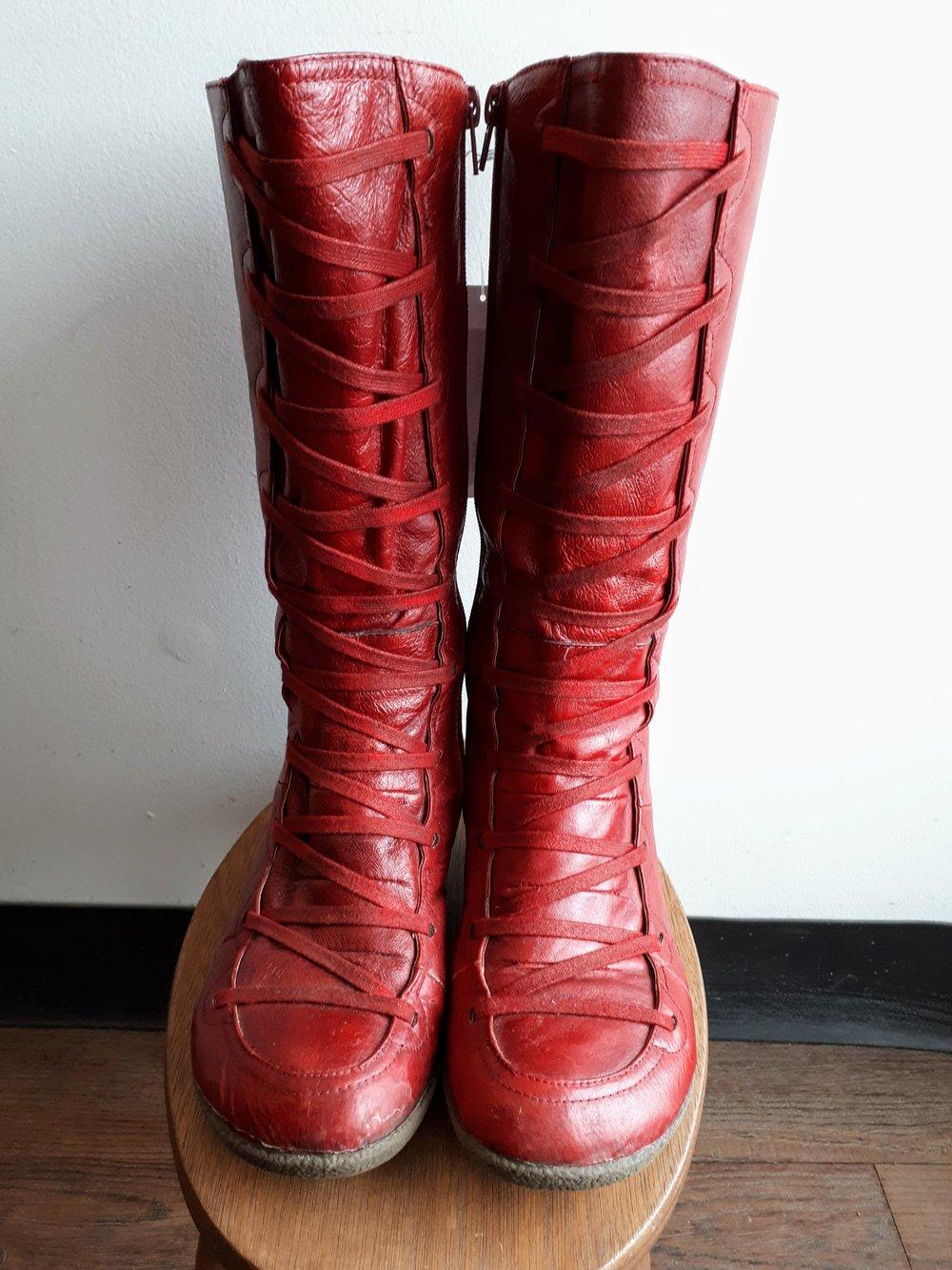 Miz Mooz boots; S7.5, $48