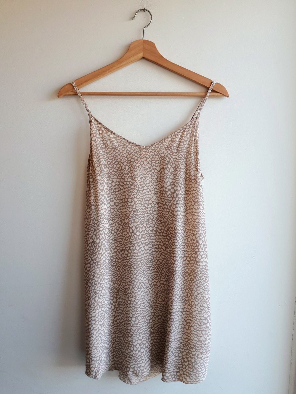 Wilfred dress; Size M, $36