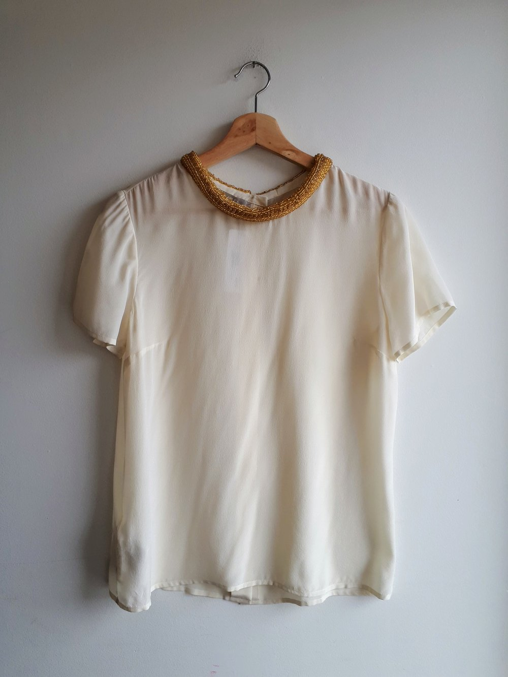 Stefanel top; Size M, $38