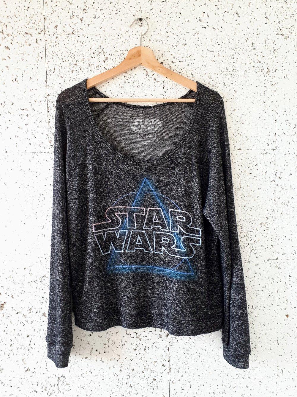 Star Wars top; Size L, $26