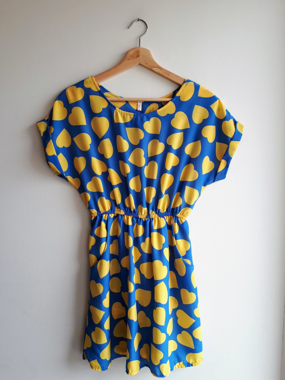 Hearts dress; Size S, $22
