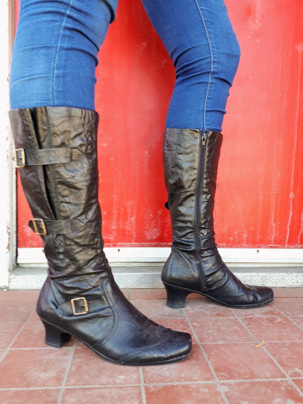 Reiker boots; S9, $45