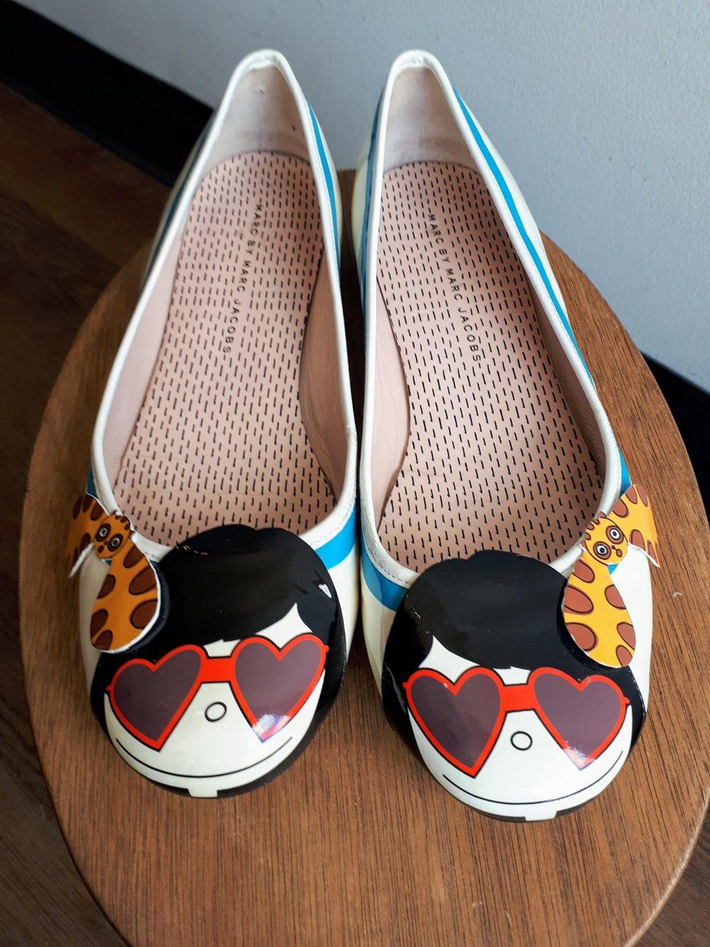 Marc Jacobs shoes; S8, $48