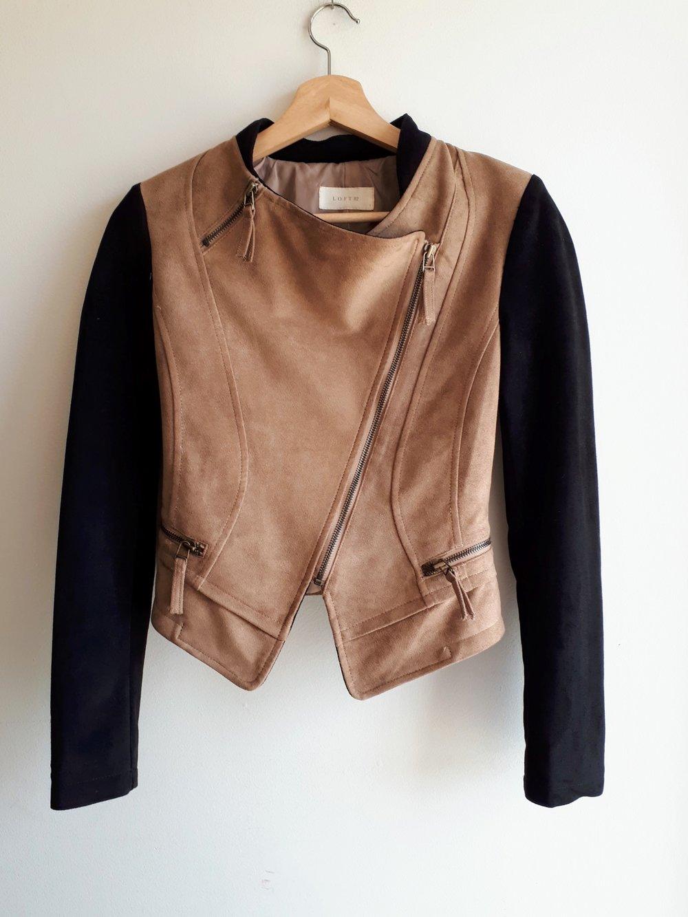 Loft 82 jacket; Size S, $42
