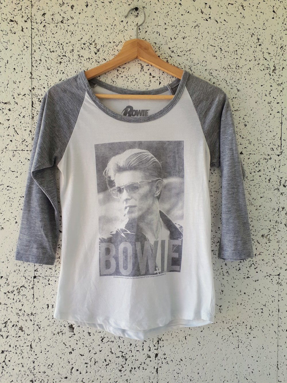 David Bowie T-shirt; Size M, $24