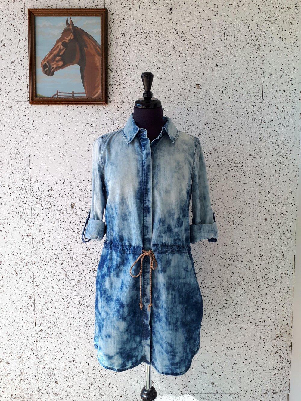 Lyocell dress; Size M, $36