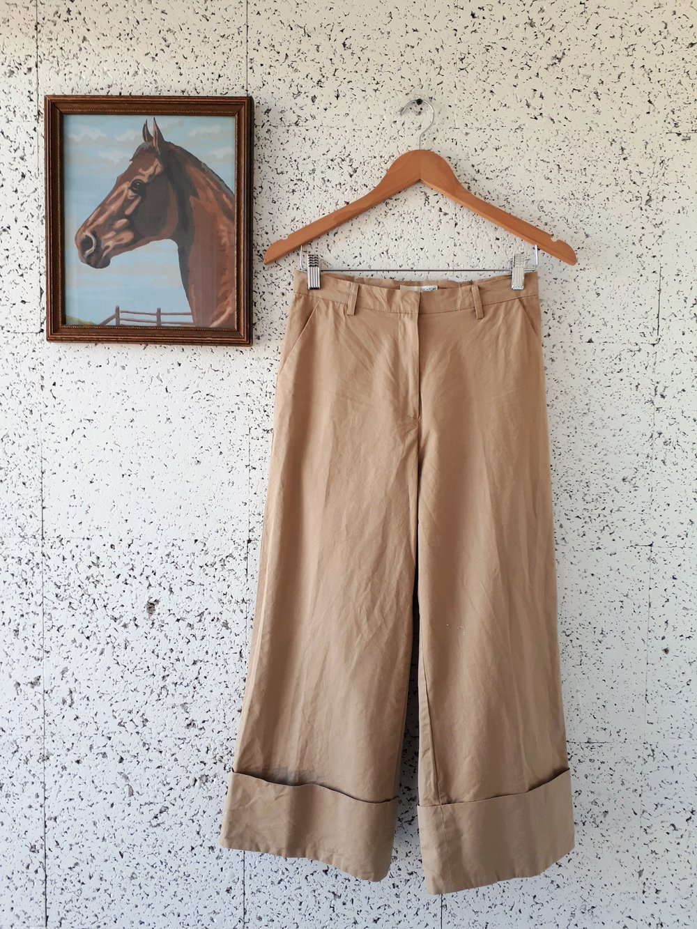 Oak+Fort pants; Size M, $40