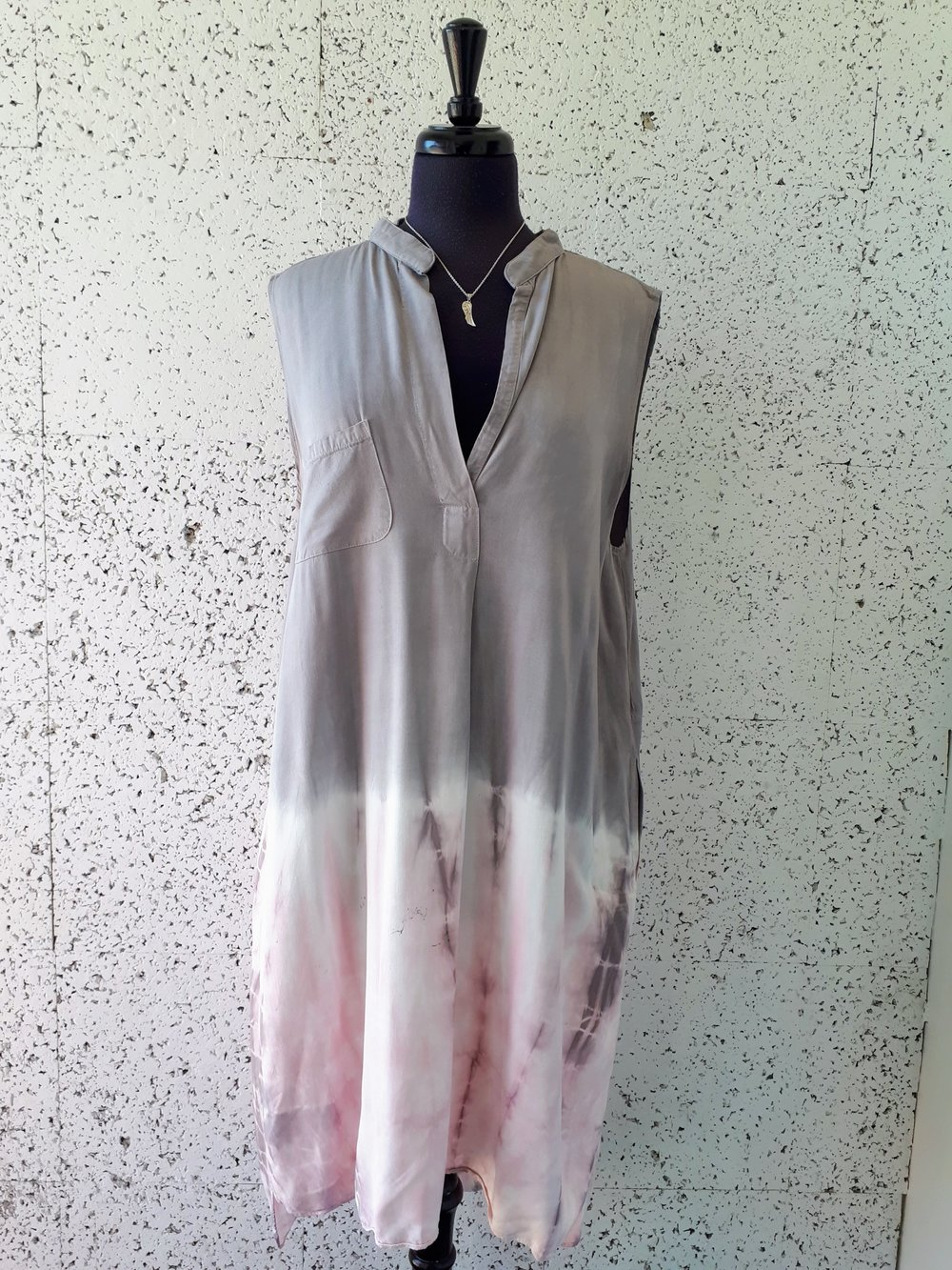 Campre dress; Size L, $48 (Necklace, $14)