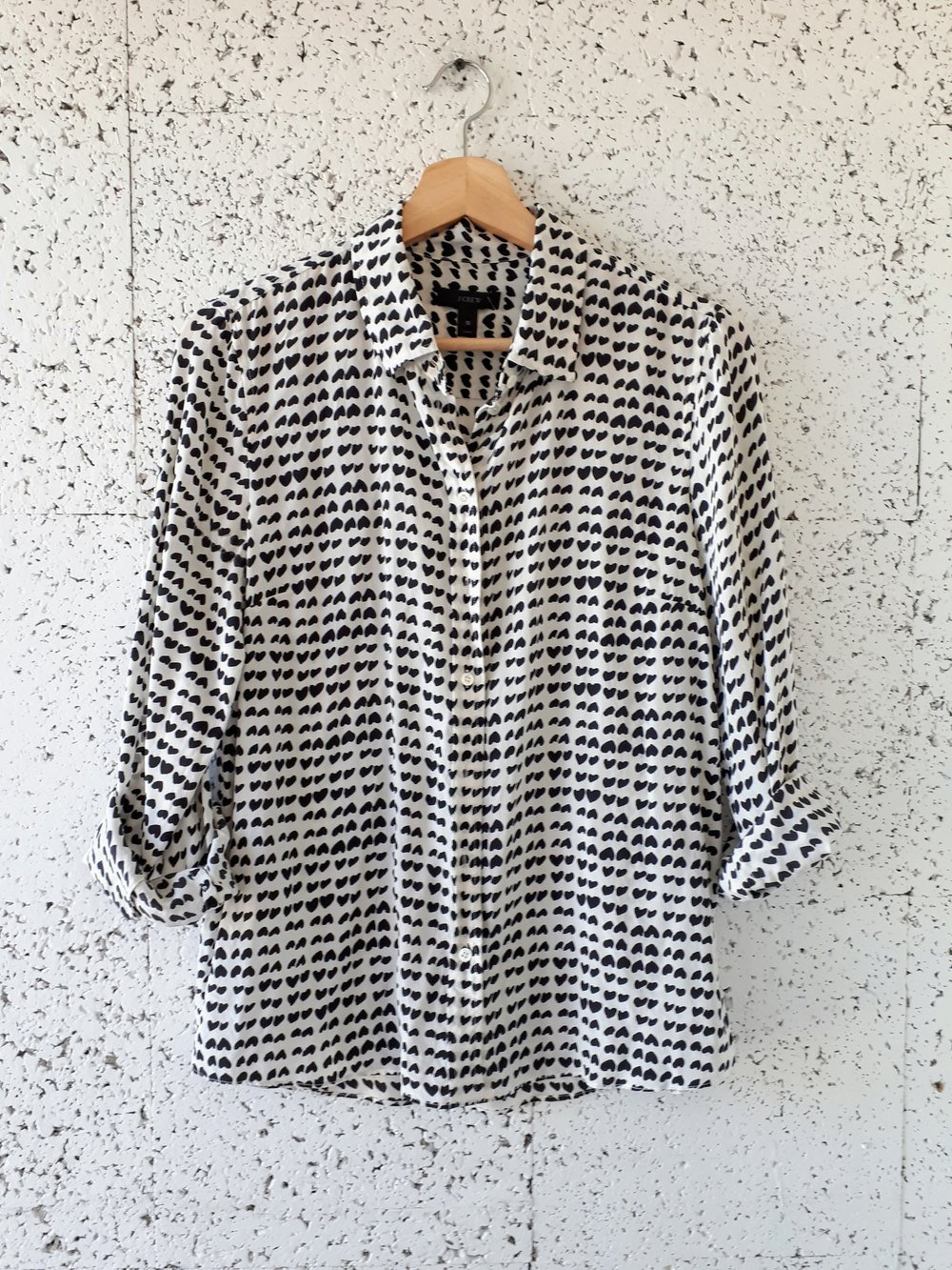 J Crew shirt; Size M, $34