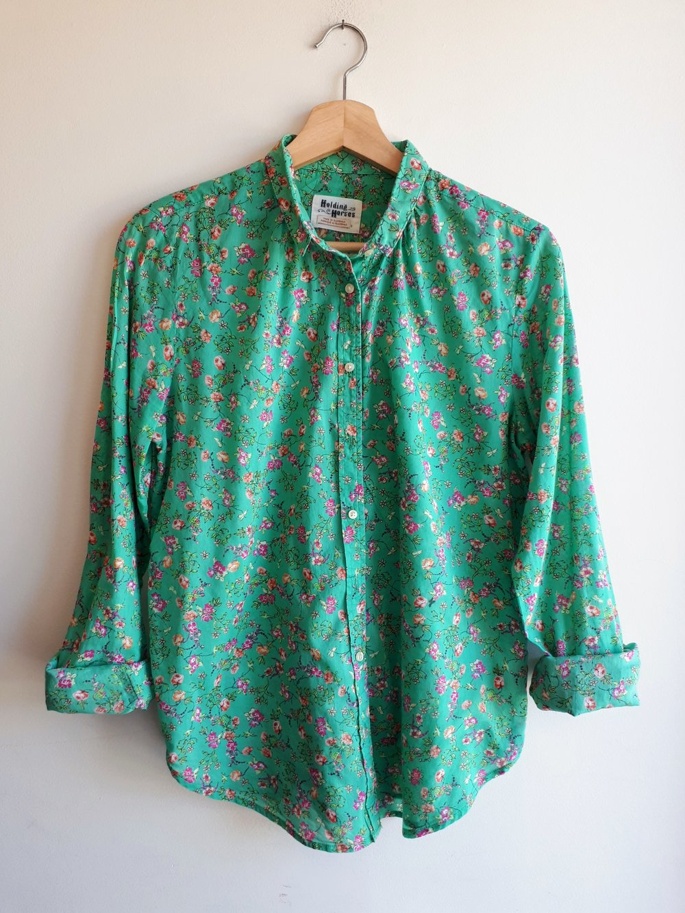 Holding Horses top; Size M, $26