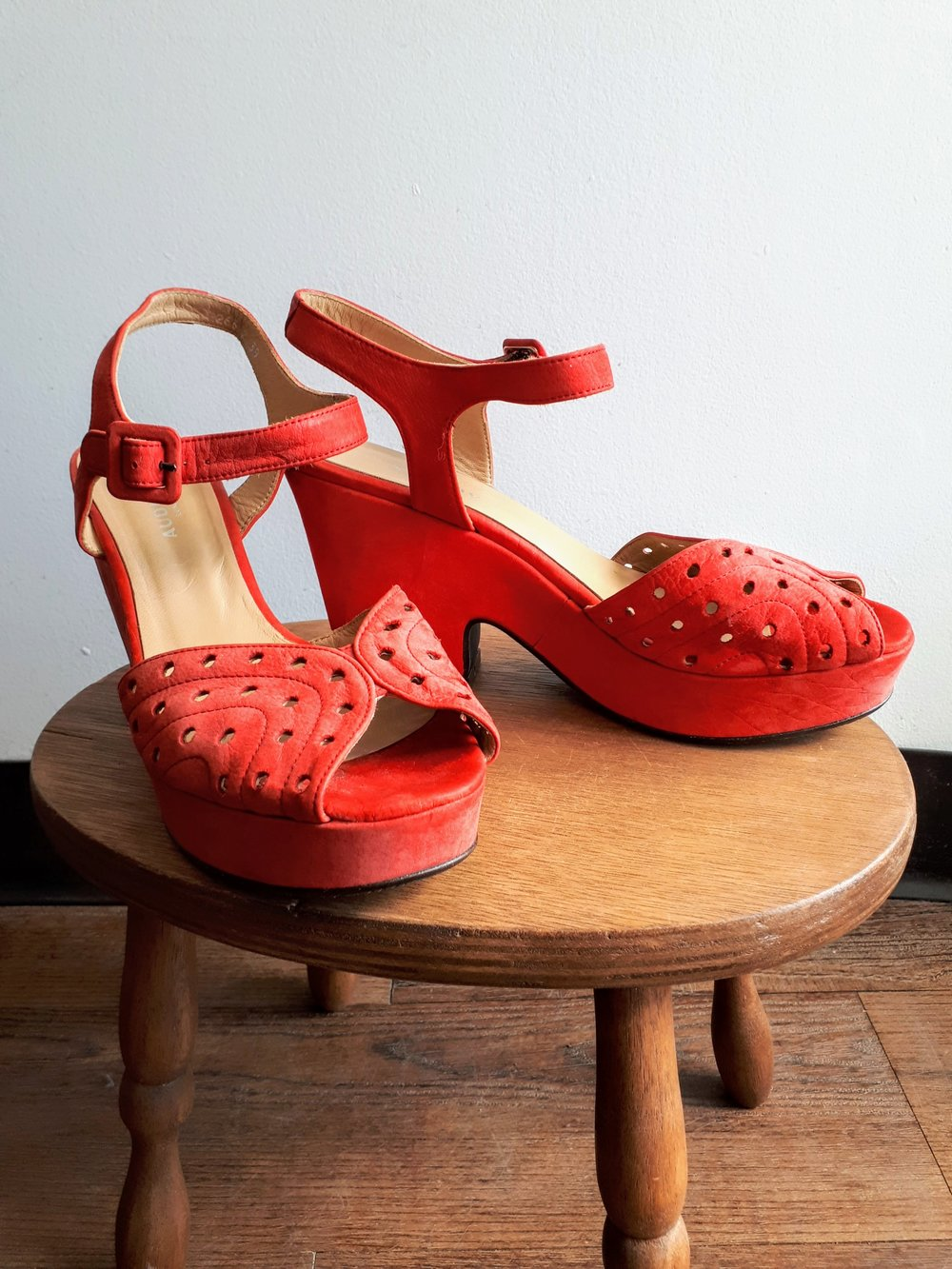 Audley shoes; S 8.5, $62
