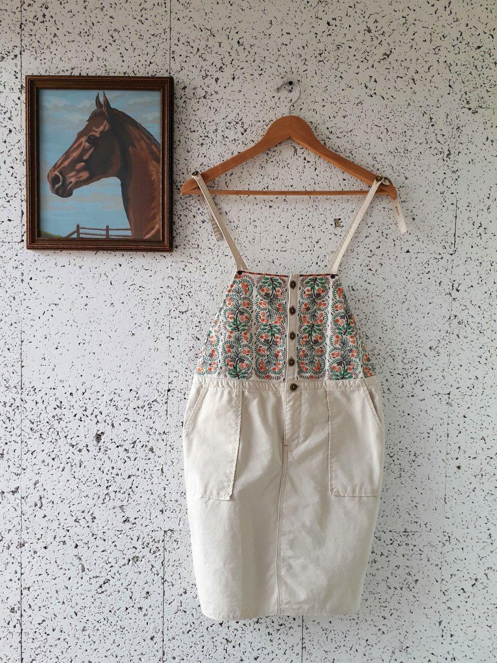 Holding horses dress; Size XS, $36