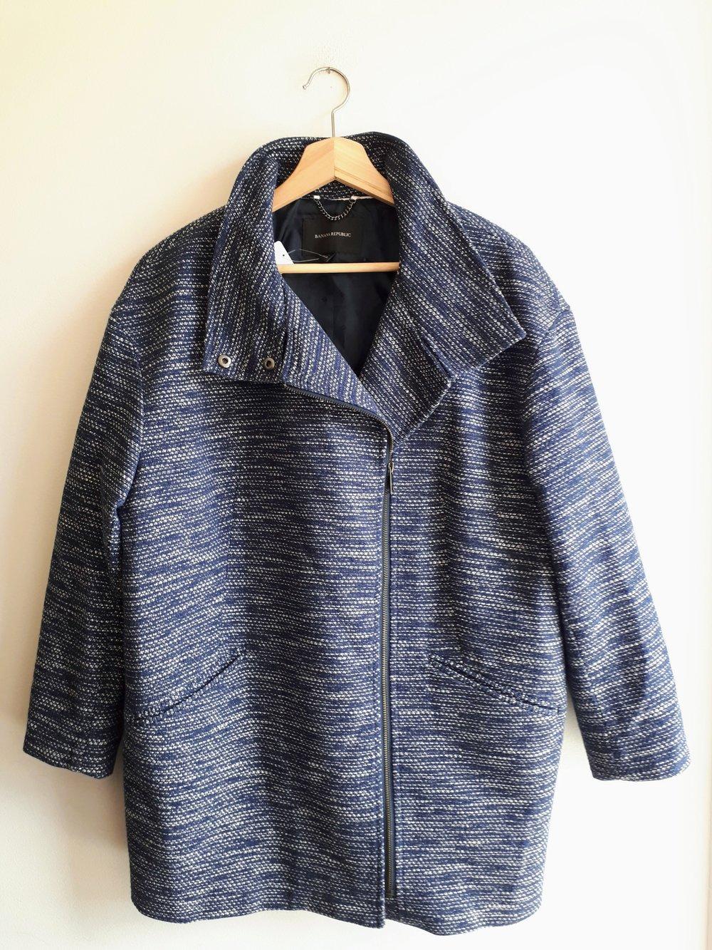 Banana Republic coat (NWT); Size M, $58