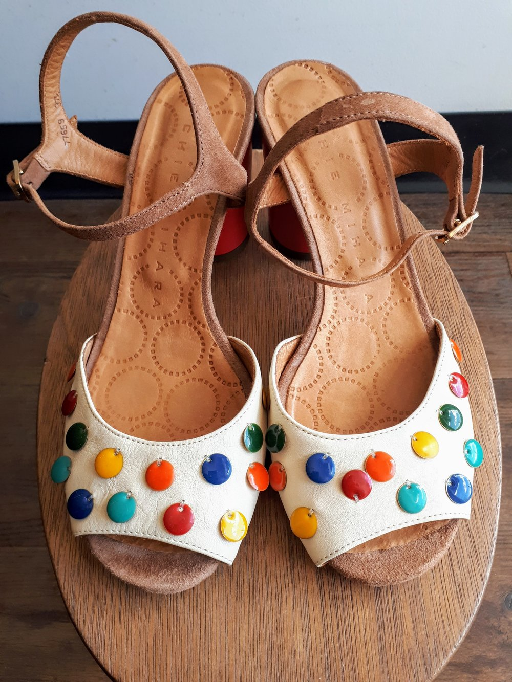Chie Mihara shoes; S7.5, $175
