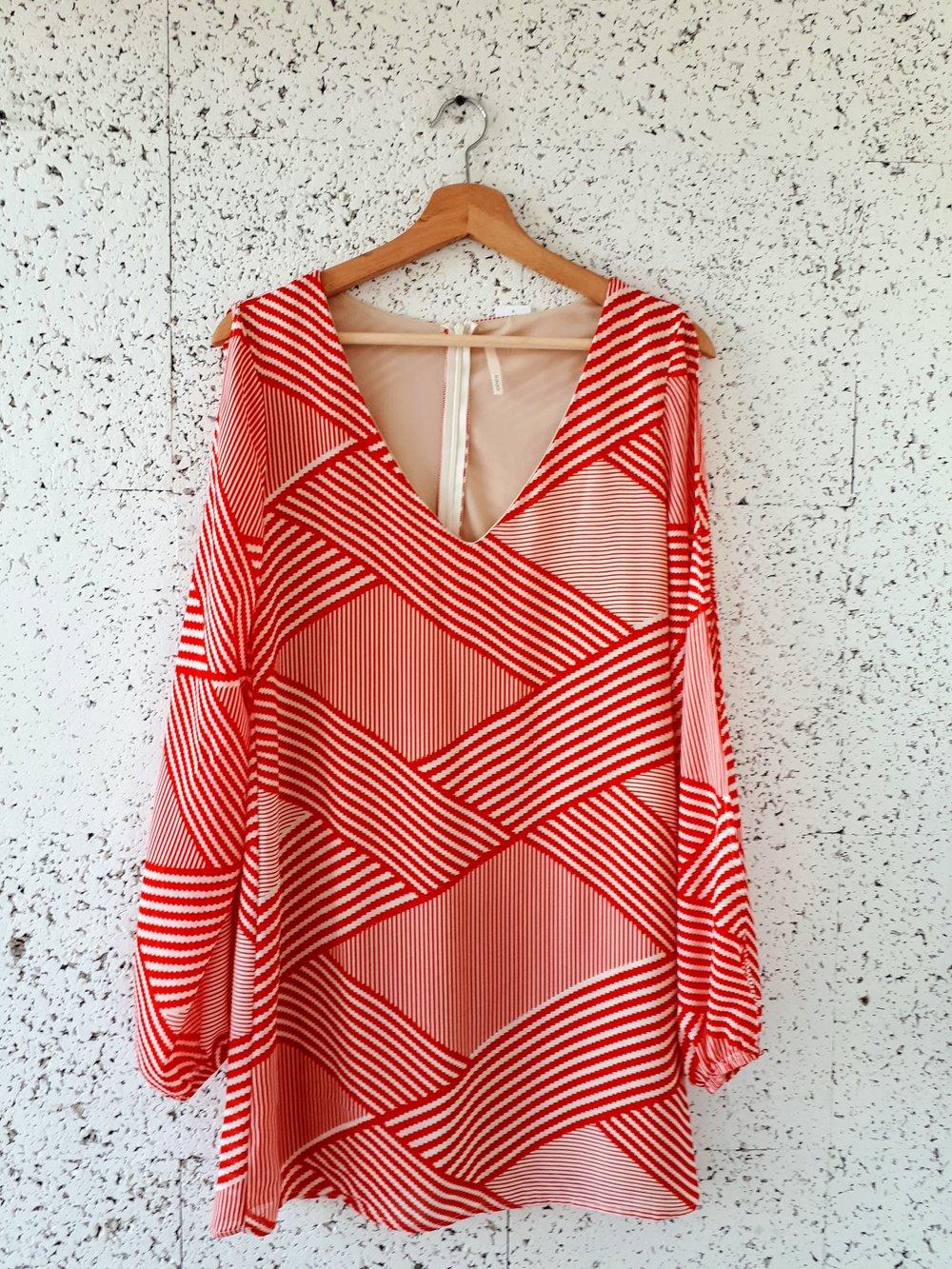 Sage dress; Size S, $28