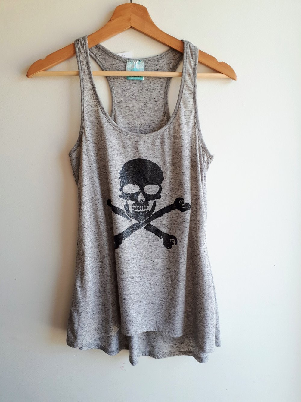 Enough About Me tank; Size S, $16