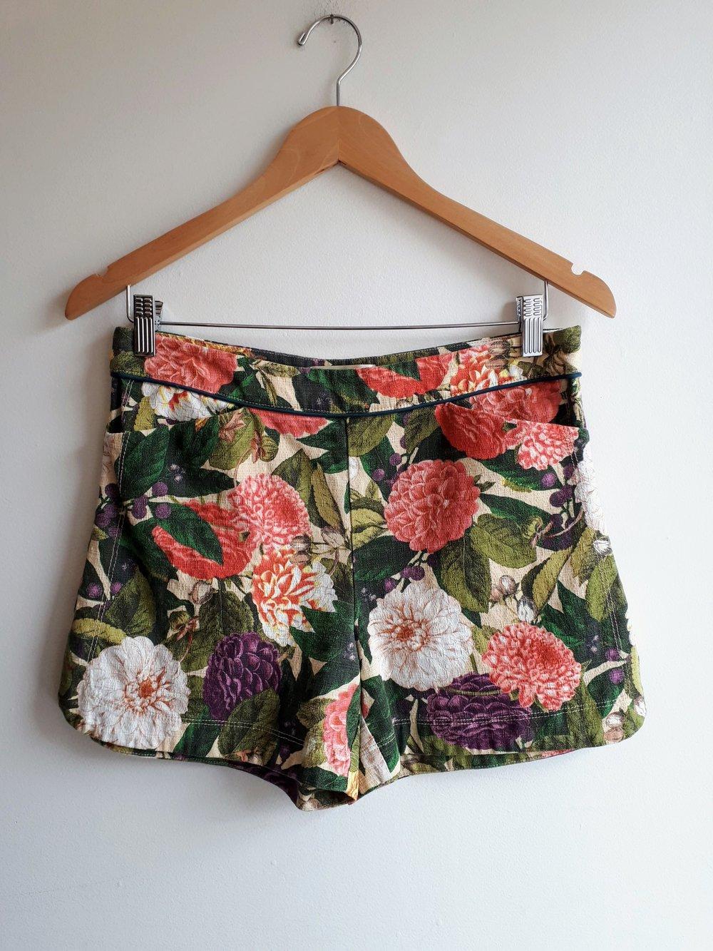Elevenses shorts; Size 6, $28