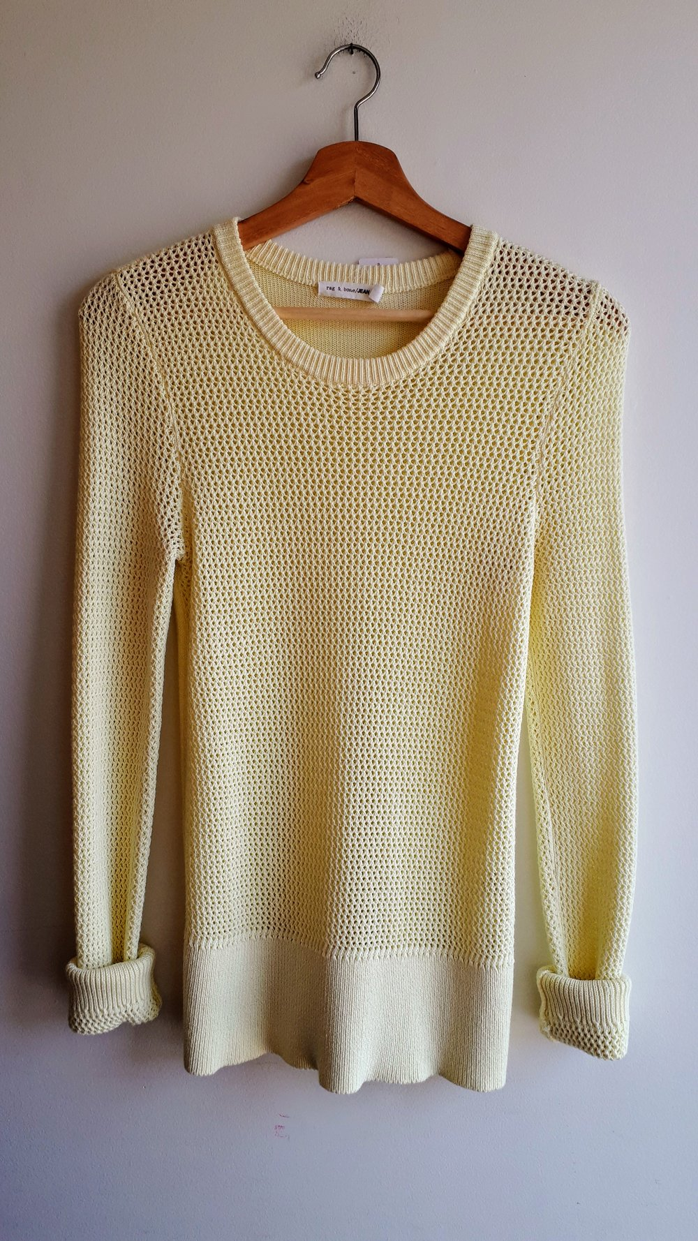 Rag & Bone sweater; Size S, $42
