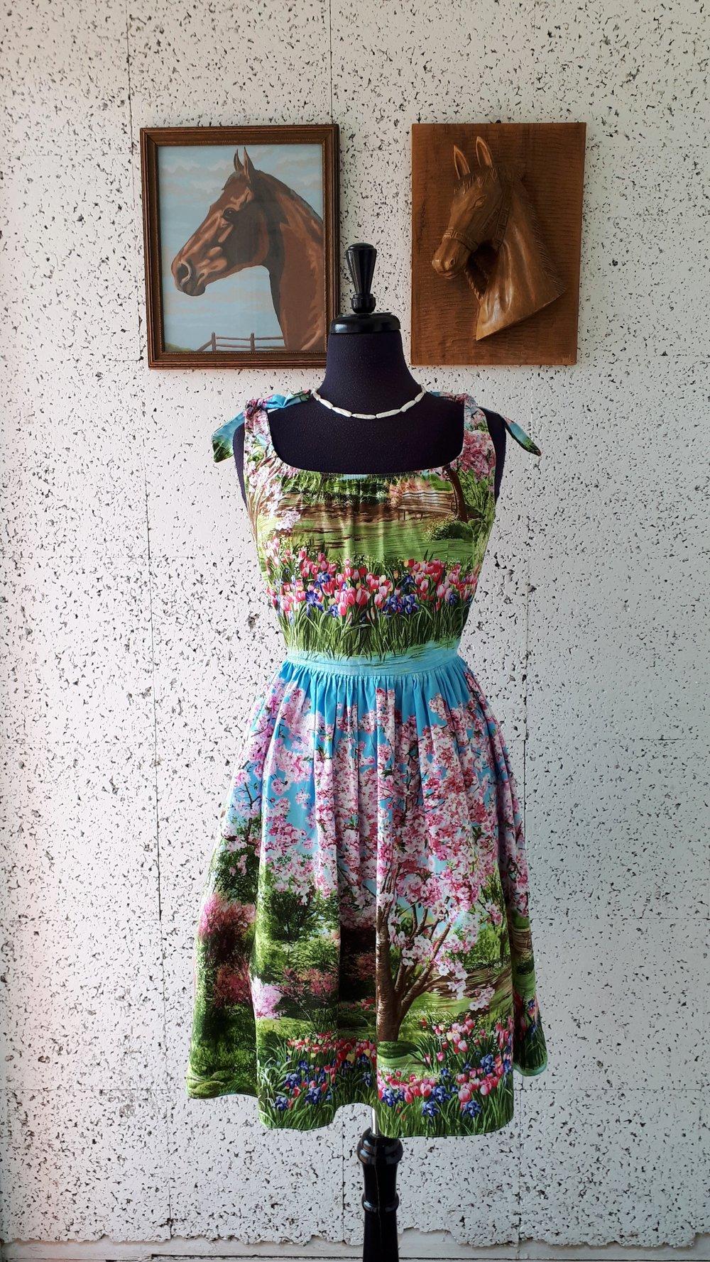 Bernie Dexter dress; Size L, $42