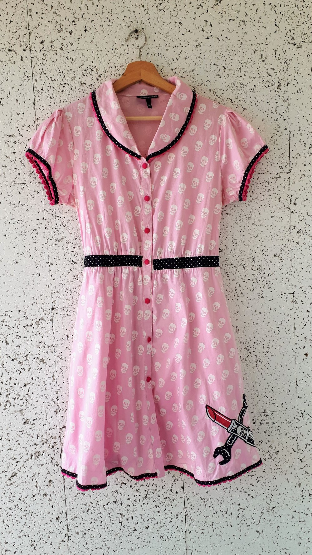 Sourpuss dress; Size XL, $42