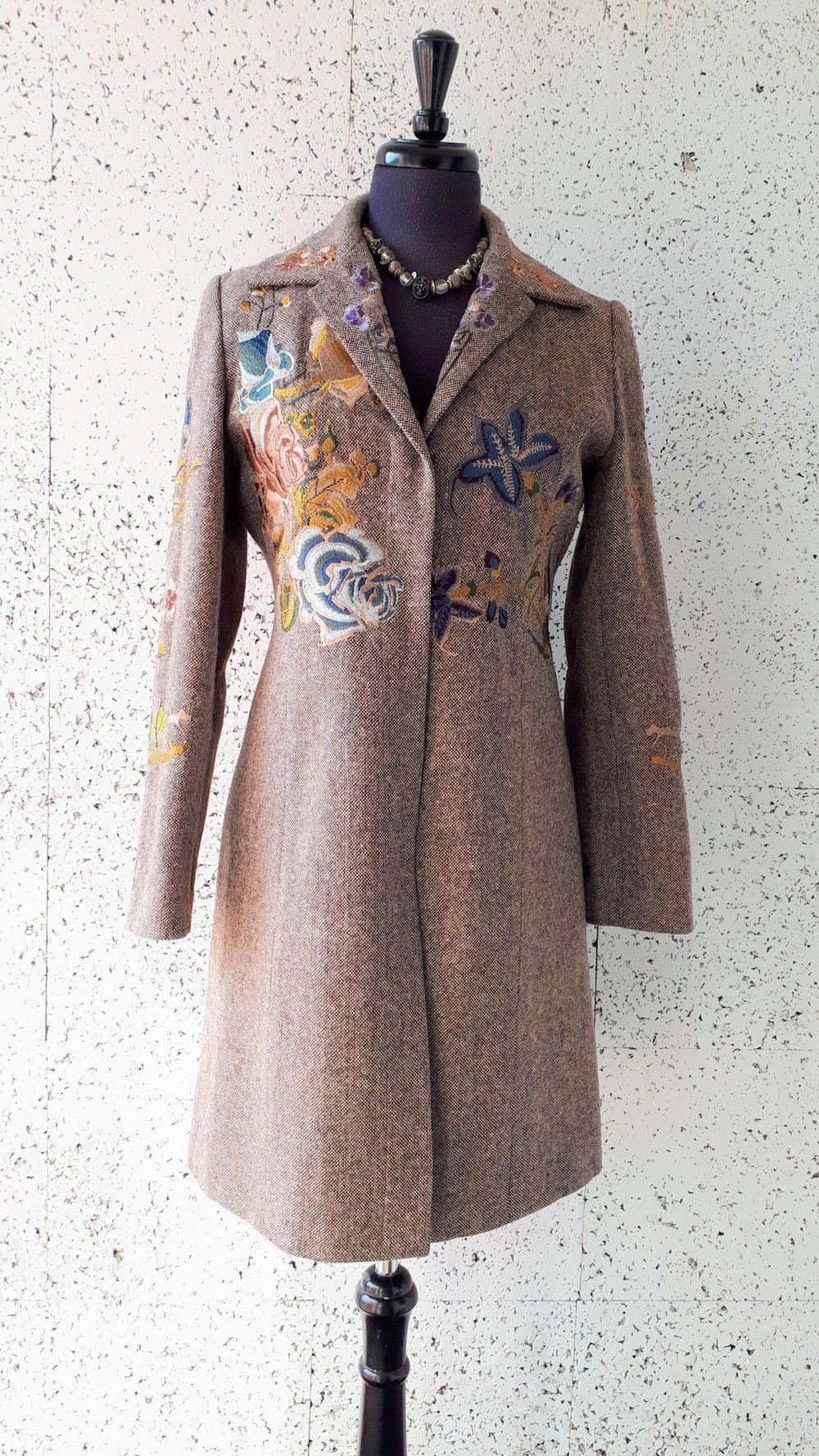 Simply Manankin coat; Size M, $48