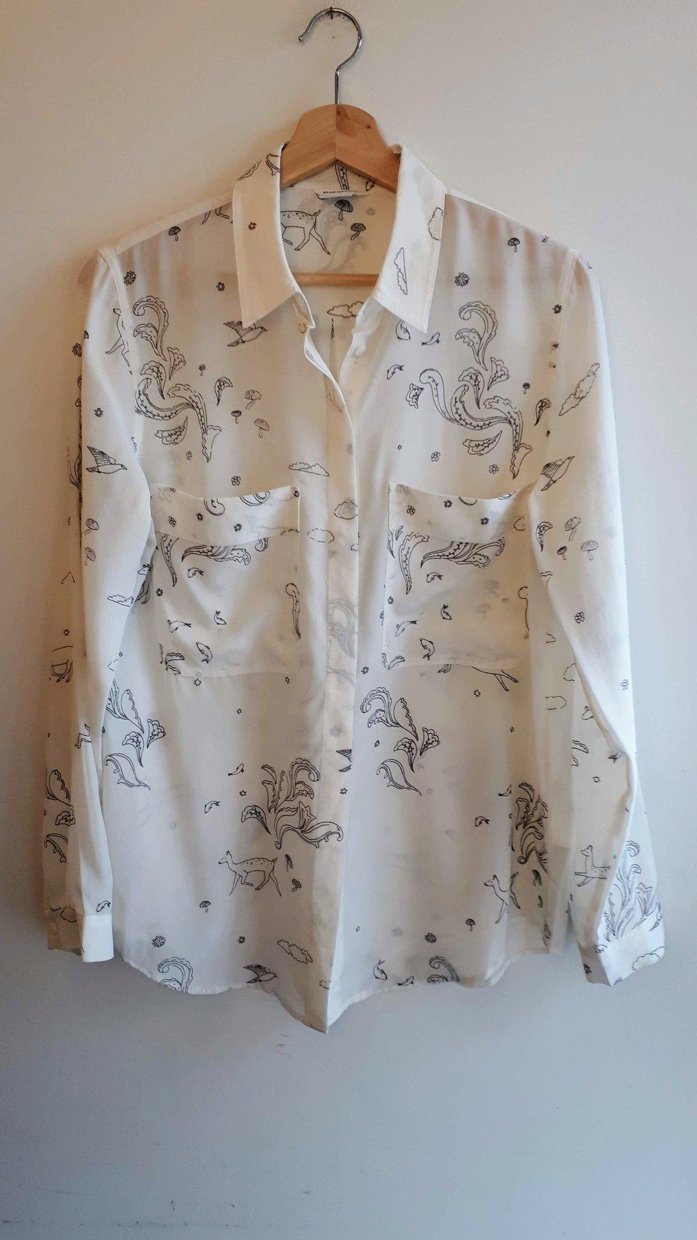 Club Monaco shirt; Size M, $40