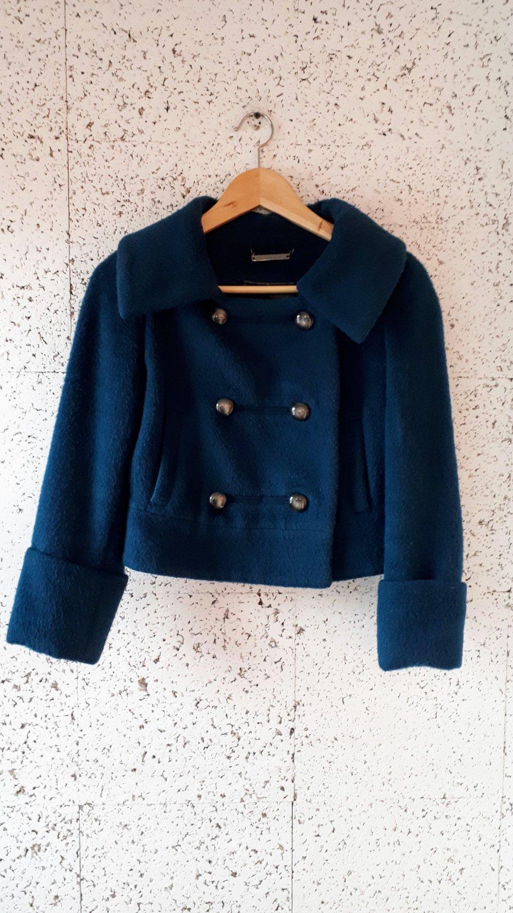 Diane Von Furstenberg coat; Size S, $185