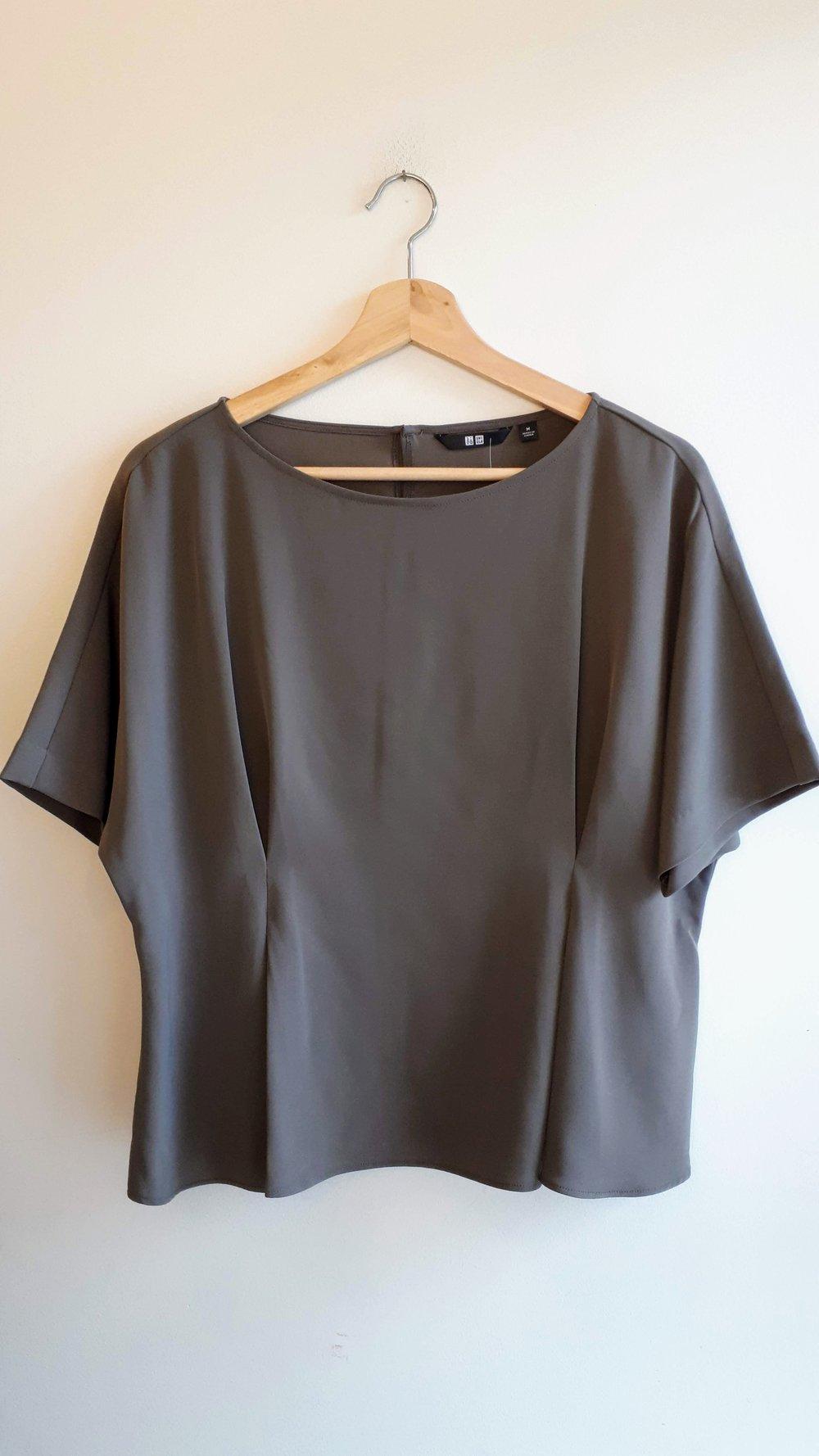 Uniqlo top; Size M, $40