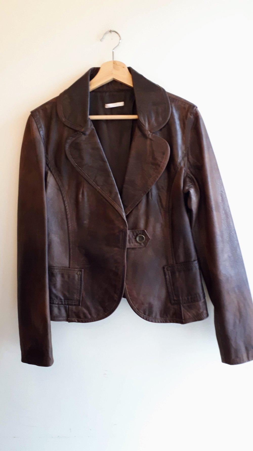 Pois coat; Size S, $62