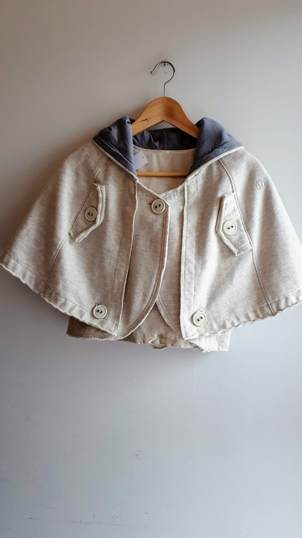 Lululemon cape; Size S, $48
