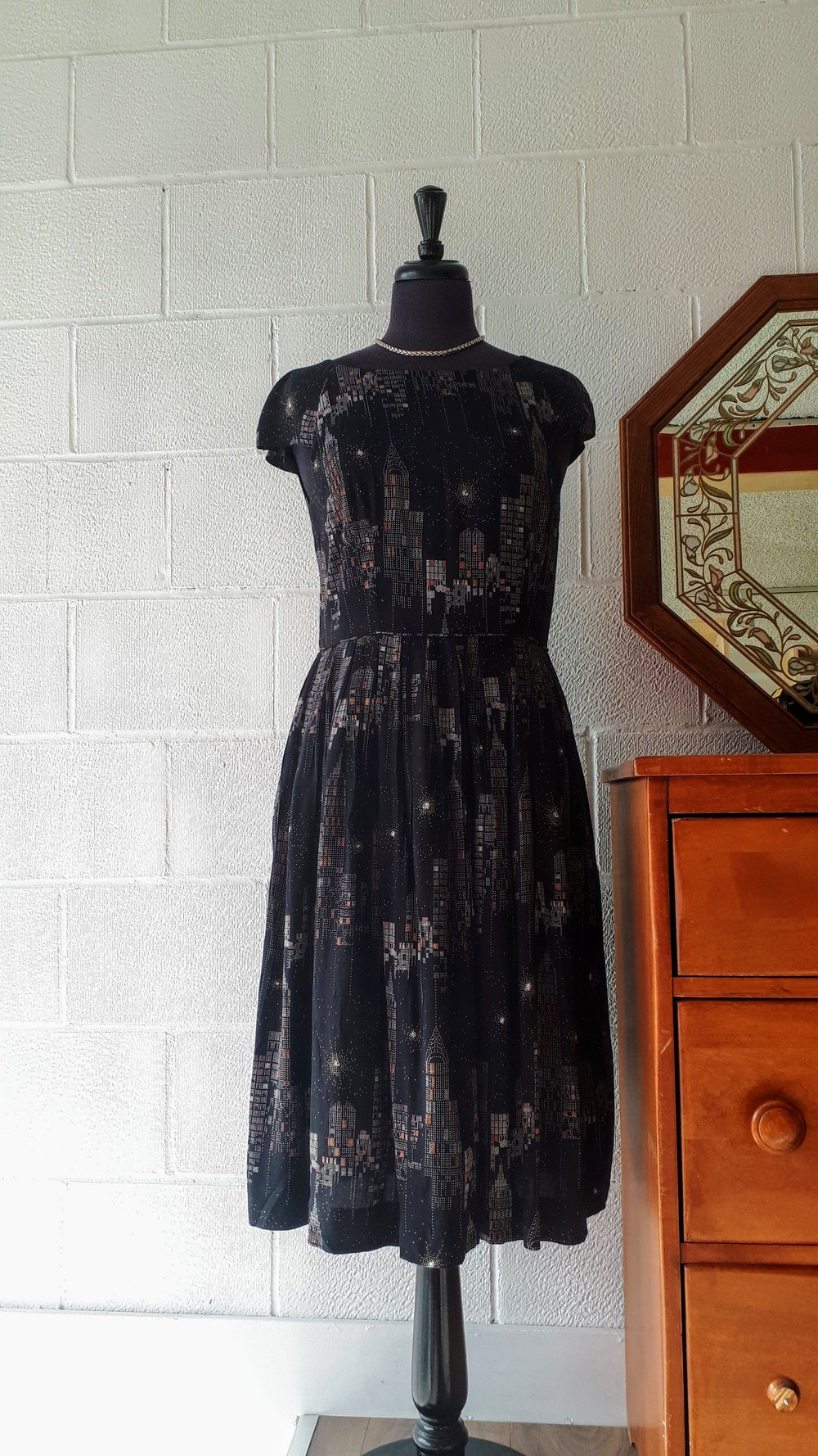 Emily and Fin dress; Size M, $52