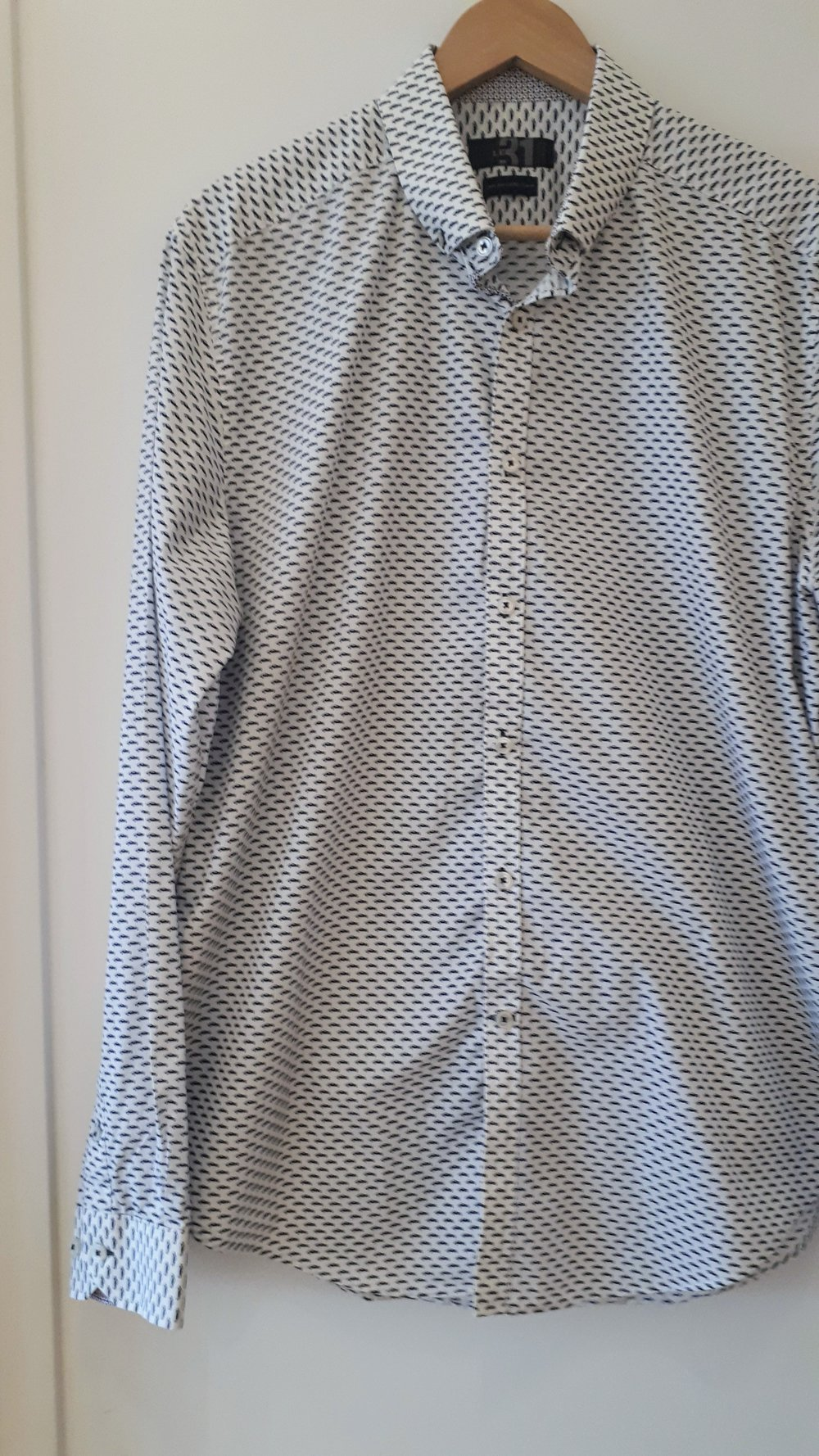Le 31 shirt; Size L, $30
