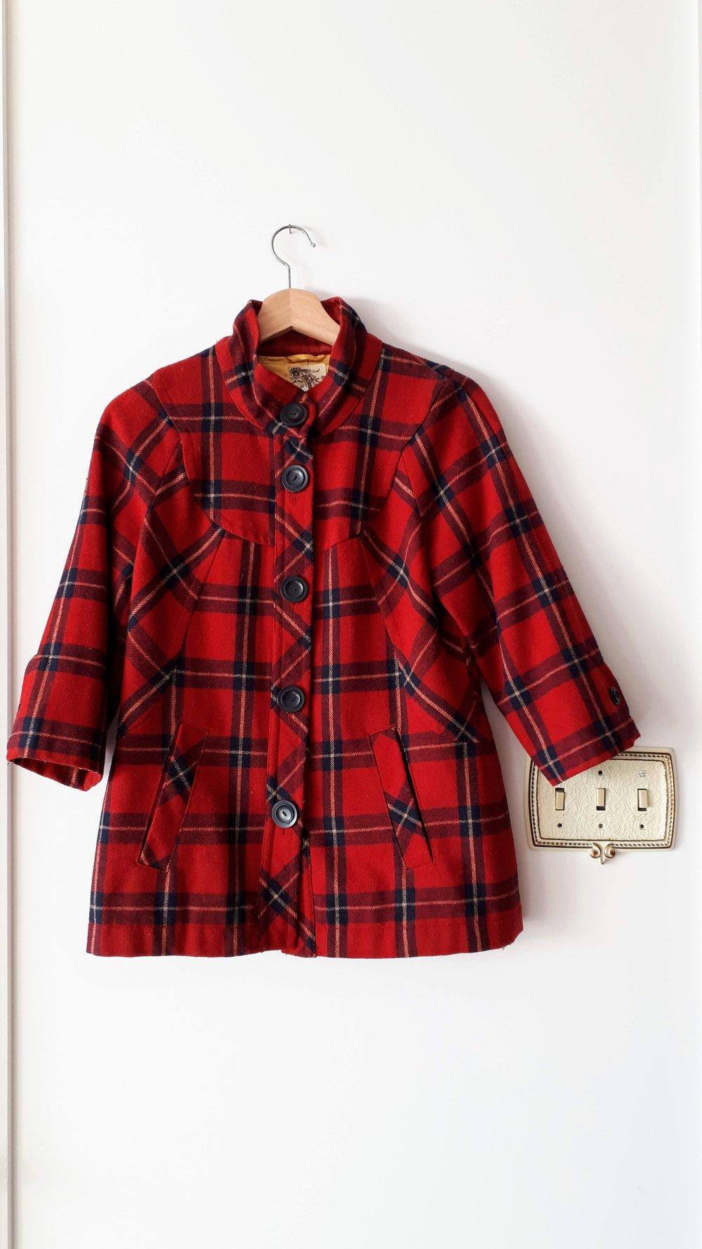 Tulle jacket; Size S, $45