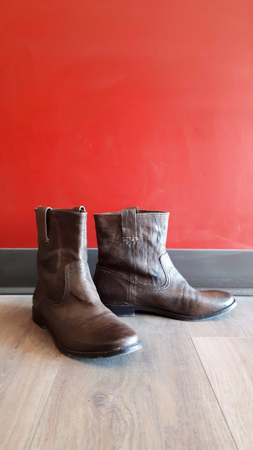 Frye boots; Size 8.5, $135