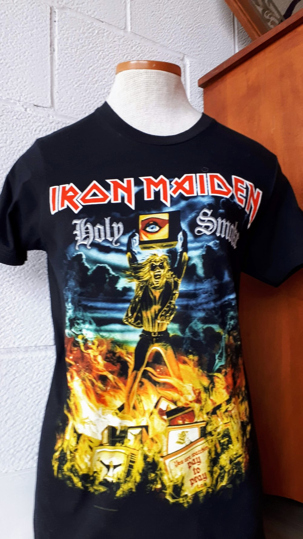 Iron Maiden top; Size S, $24