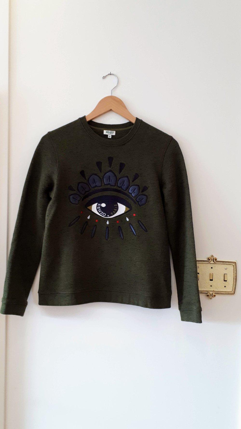 Kenzo sweater; Size M, $45