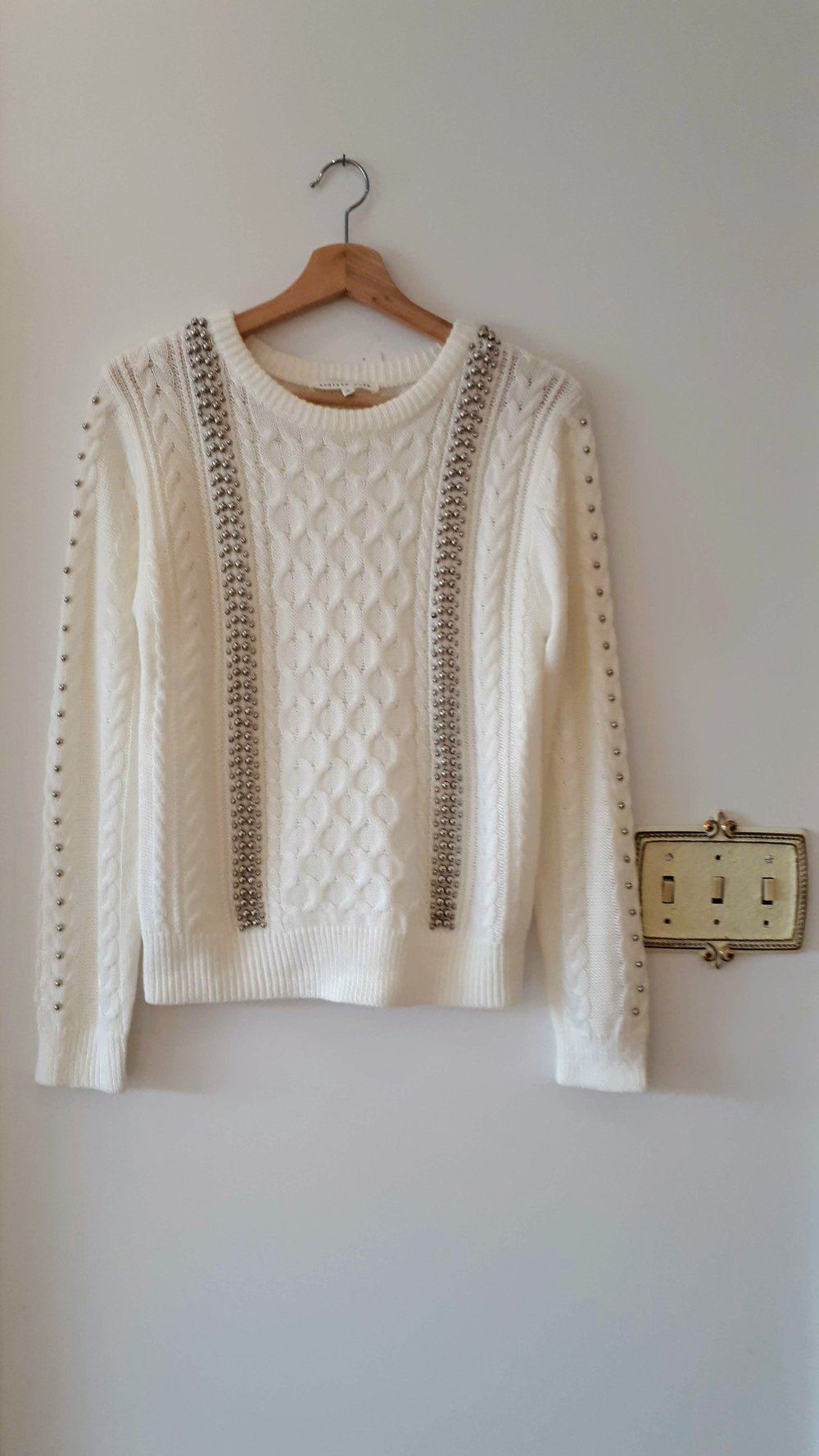 Endless Rose sweater; Size S, $28