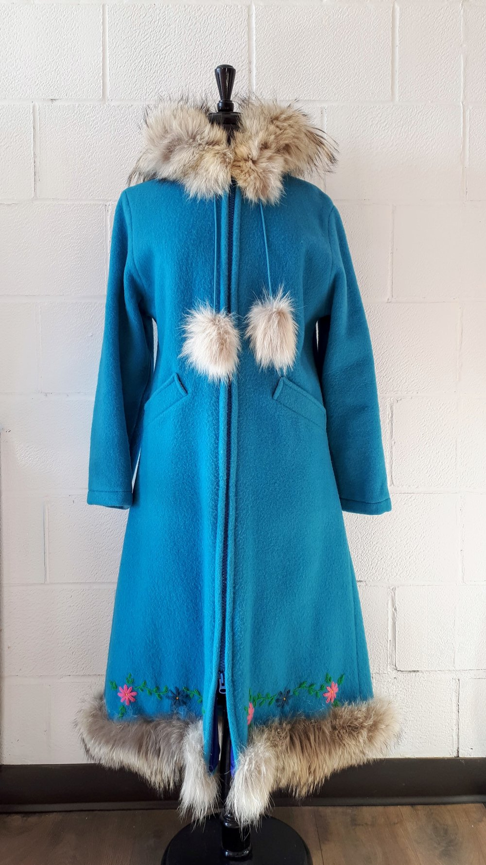 Hand made coat; Size S/M, $195
