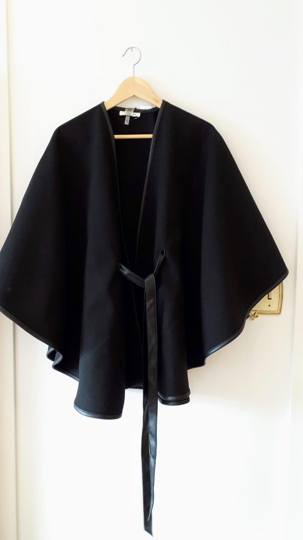 Calvin Klein poncho (NWT), $52