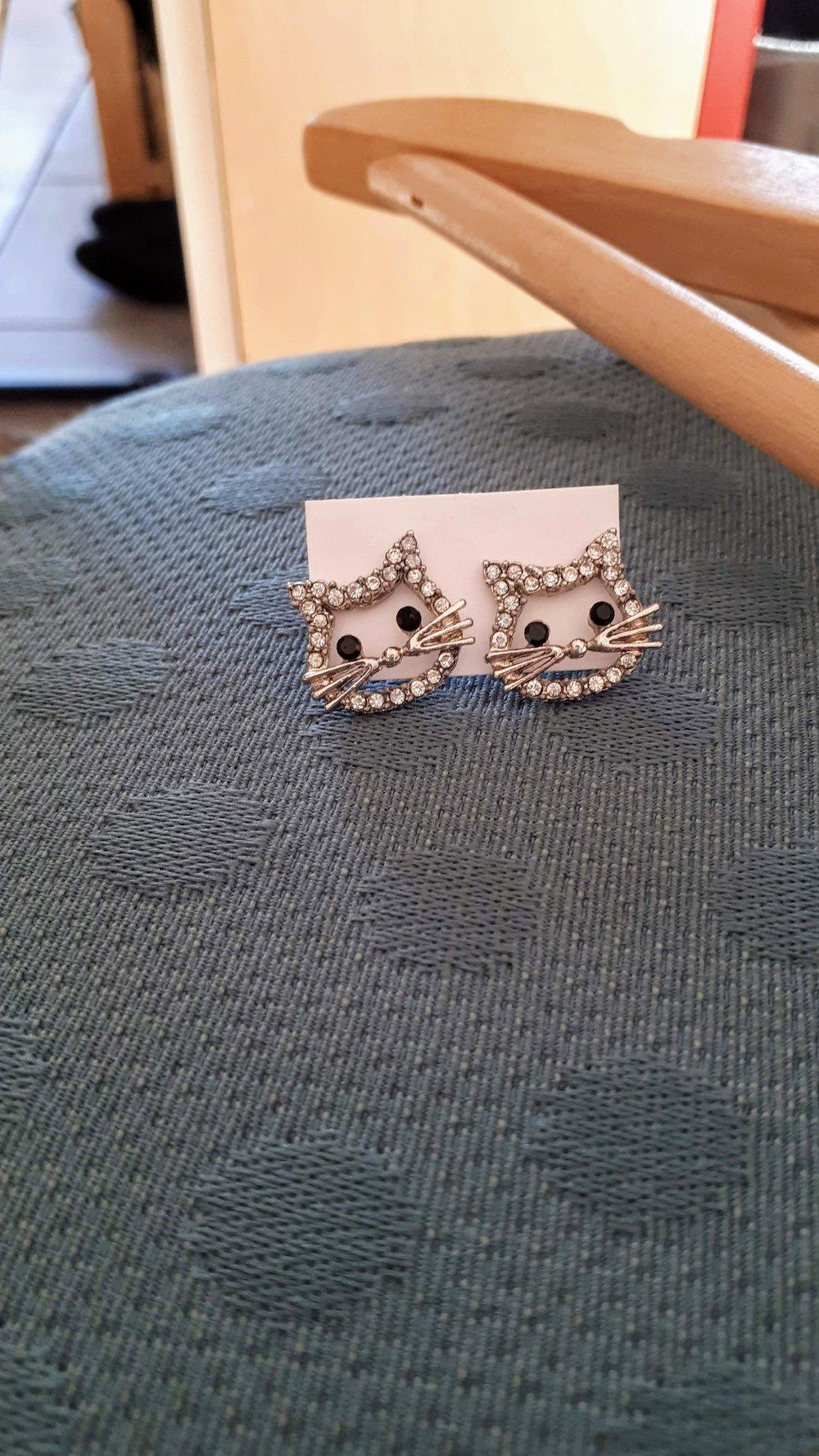 Earrings, $12
