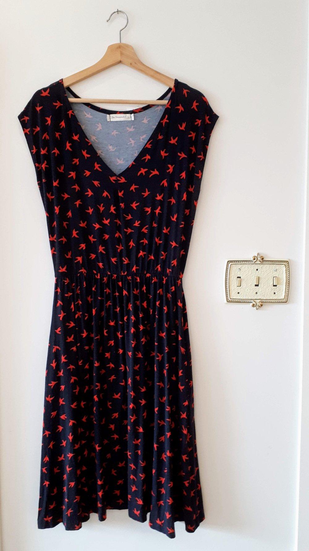 The Dressmaker dress; Size L, $40