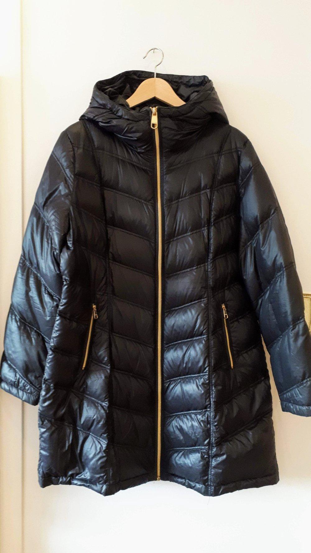 Calvin Klein coat; Size XL, $95
