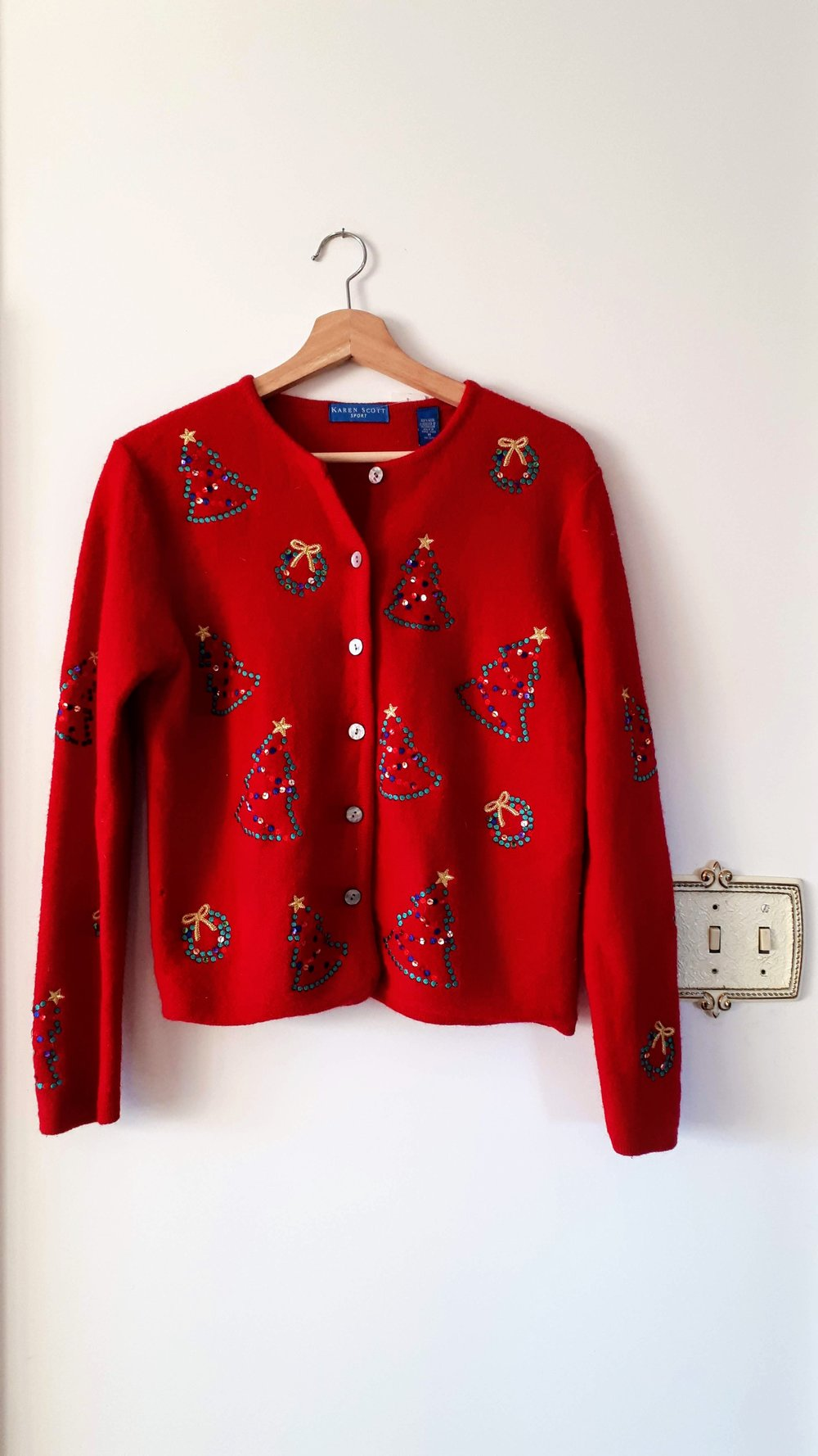 Sweater; Size M, $22