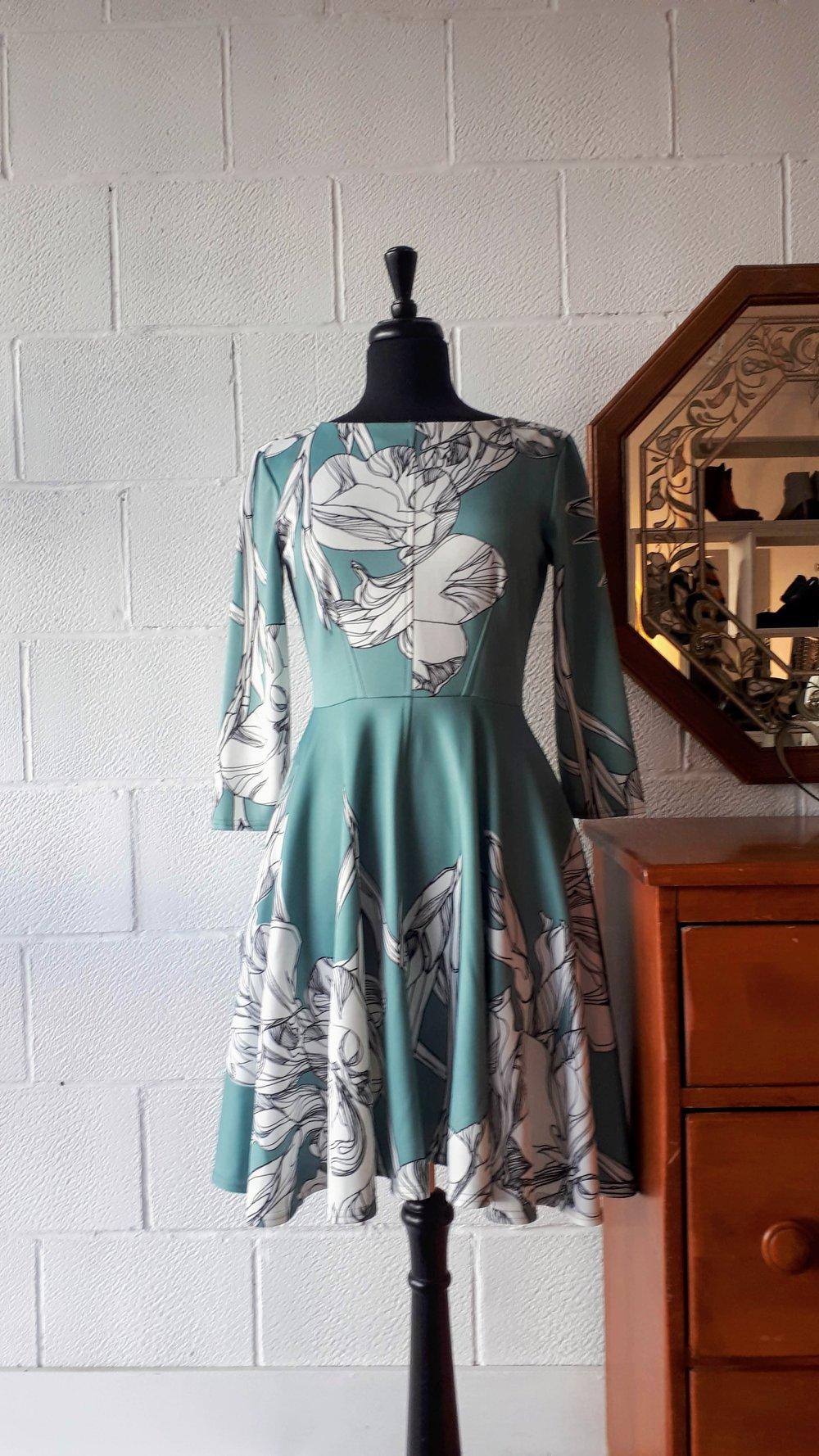 Closet London dress; Size 8, $48